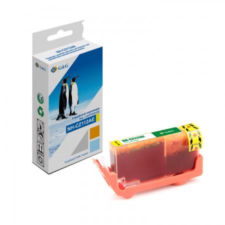 Картридж Струйный HP CZ112AE №655XL Yellow G&G DJ IA 3525/45