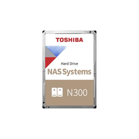 Жесткий диск Toshiba SATA-III 8Tb HDWG180UZSVA N300 NAS 7200