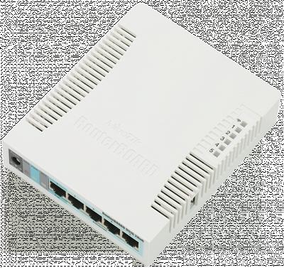 Маршрутизатор MikroTik [RB951G-2HnD]