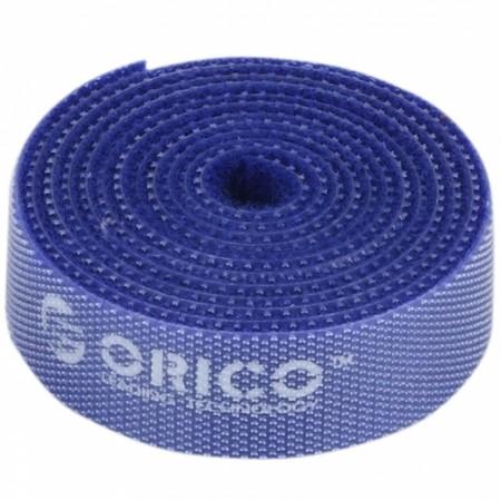 Стяжка-Липучка ORICO CBT-1S-BL  BLUE 15мм/1м