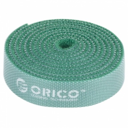 Стяжка-Липучка ORICO CBT-1S-GR GREEN 15мм/1м