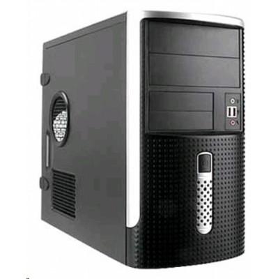 Корпус InWin EMR001 Black/Silver 500W mATX