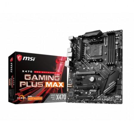 Мат. плата MSI X470 GAMING PLUS MAX AM4 ATX