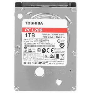 Жесткий диск Toshiba L200 Slim 1Тб [HDWL110UZSVA]
