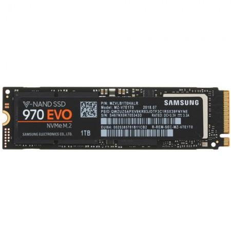 Накопитель SSD Samsung 1TB 970 EVO [MZ-V7E1T0BW] M.2 2280