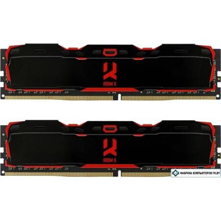 Память DDR4 2x4Gb 3200MHz GOODRAM [IR-X3200D464L16S/8GDC]