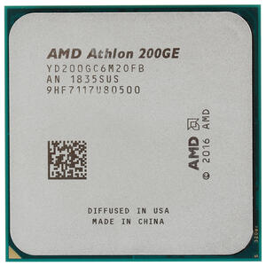 Процессор AMD Athlon 200GE 2C/4T AM4 3.2GHz Vega3 35W OEM
