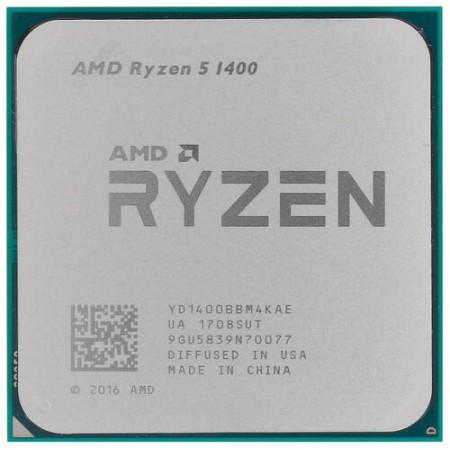 Процессор AMD RYZEN 5 1400 (OEM)