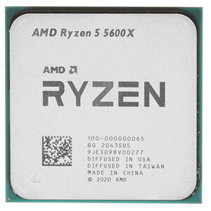 Процессор AMD RYZEN 5 5600X 3.7(4.6)GHz 65W BOX