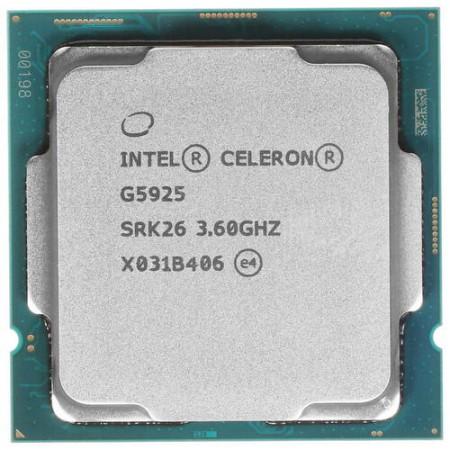 Процессор Intel Celeron G5925 S1200 2C/4T 3.6GHz 4Mb UHD610