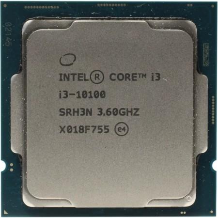 Процессор Intel Core i3-10100 S1200 4C/8T 65W OEM