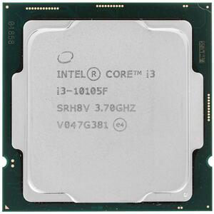 Процессор Intel Core i3-10105F S1200 4C/8T 65W OEM