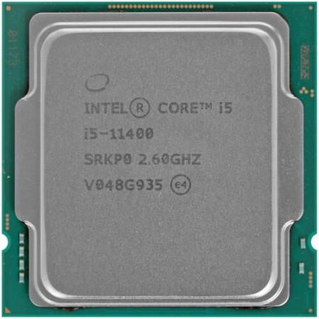 Процессор Intel Core i5-11400  S1200 6C/12T 2.6GHz(4.4)  BOX