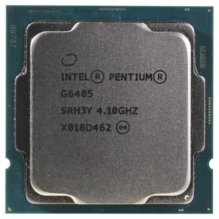 Процессор Intel Pentium G6405 S1200 2C/4T 4.1GHz 4MB OEM