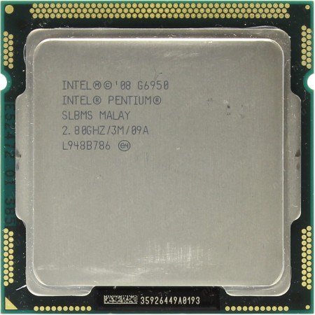Процессор Pentium G6950 2.80GHz 3Mb LGA1156 OEM
