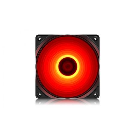 Вентилятор для корпуса DeepCool RF120R 120x120x25мм LED RED