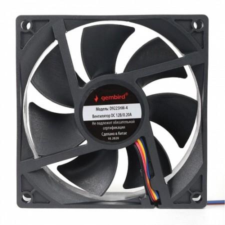 Вентилятор для корпуса Gembird D9225HM-4 92x92x25