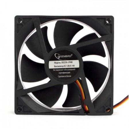 Вентилятор для корпуса Gembird S9225H-3P4M 92x92x25