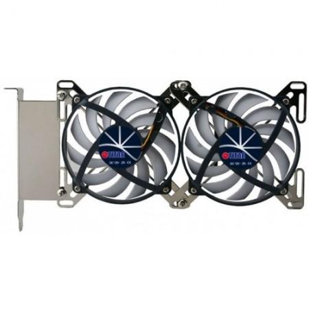 Кулер Titan TTC-SC07TZ(RB) PCI Slot fan 3-pin 15-28dB 263gr