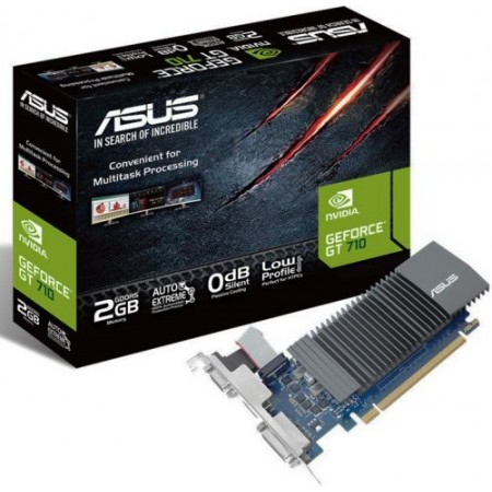 Видеокарта ASUS GeForce GT 710 Silent LP [GT710-SL-2GD5-BRK]