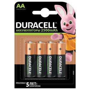Аккумулятор DURACELL TURBO HR6-4BL AA 2500mAh 4шт