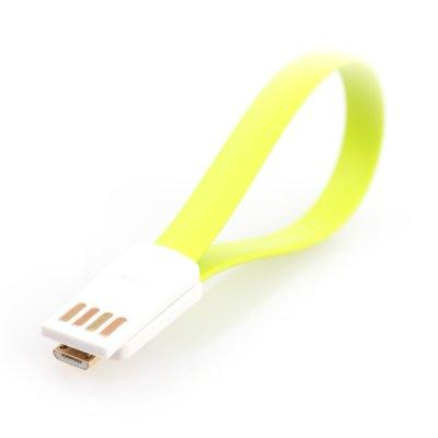 Кабель Gmini USB 2.0 [MUS200F-M] зеленый