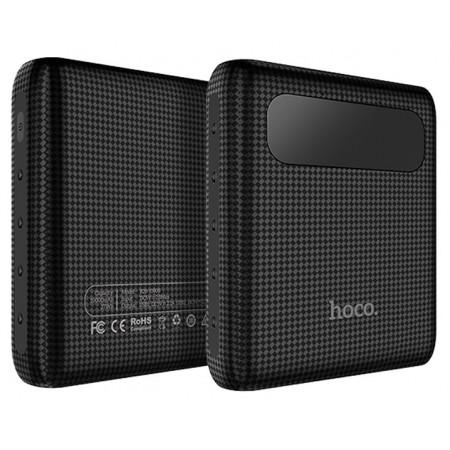 Мобильный аккумулятор Hoco B20-10000, 10000мА/ч, черынй