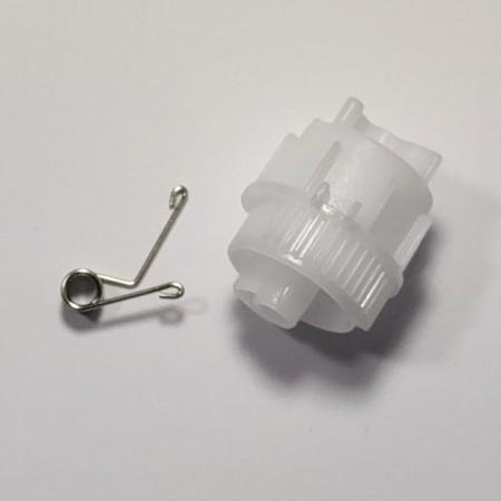 Зубчатый флажок сброса счетчика картриджа Brother HL2132/DCP