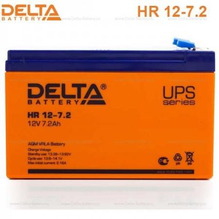 Аккумуляторная батарея DELTA HR12-7.2 12V/7.2Ah