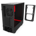 Корпус NZXT CA-H510B-BR H510 Black/RED ATX без БП 1xUSB3.0