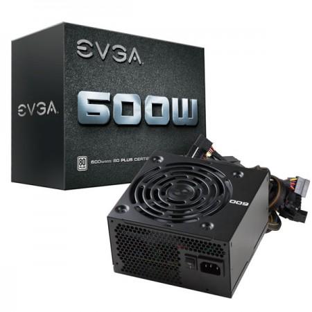 Блок питания EVGA 600W 100-W1-0600-K2 80+ White RTL