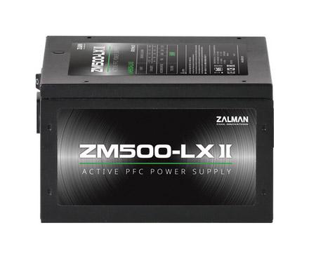 Блок питания  Zalman ZM500-LXII, 500W, ATX12V v2.31, APFC, 1