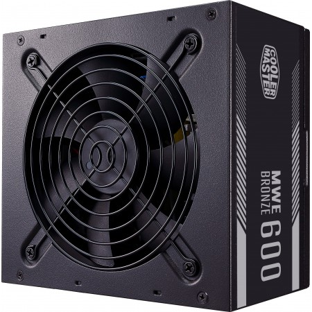 Блок питания Cooler Master MWE Bronze, 600W, ATX, 120mm, 8xS