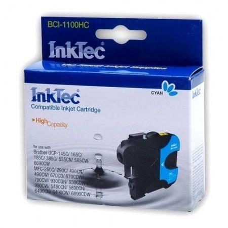 Картридж Brother InkTec [LC1100/980/67/65/61/38C] Синий