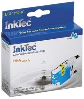 Картридж InkTec Brother [LC1240/1280C] Синий
