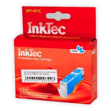 Картридж InkTec Canon CLI-451C