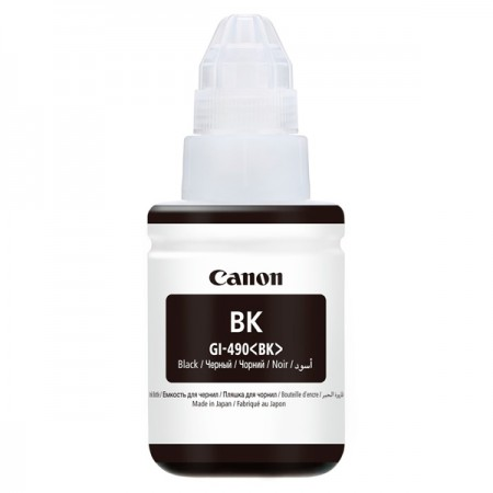 Картридж Canon GI-490BK Black 135ml PIXMA G1400/G2400/G3400