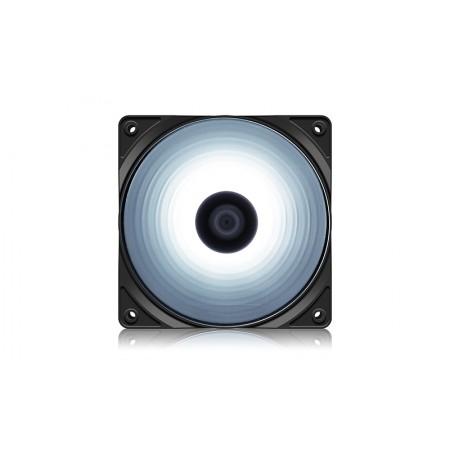 Вентилятор для корпуса DeepCool RF120W 120x120x25мм LED Whit