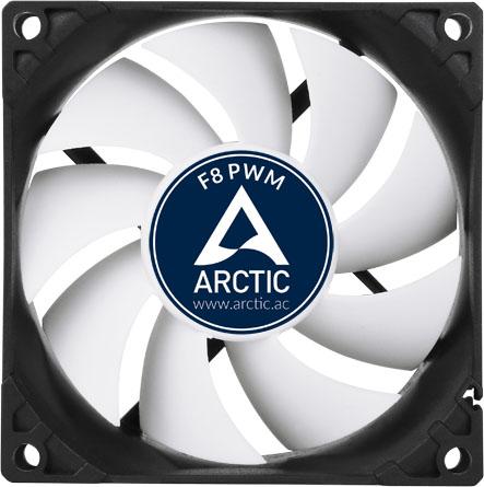 Вентилятор Arctic Cooling F8 PWM rev2 [AFACO-080P2-GBA01]
