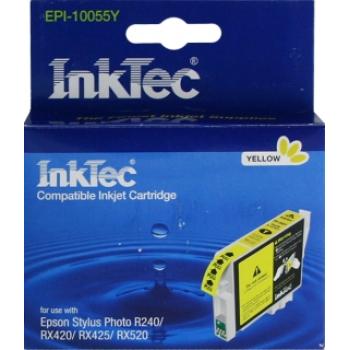 Картридж Epson T0554 Yellow R240/RX520 InkTec
