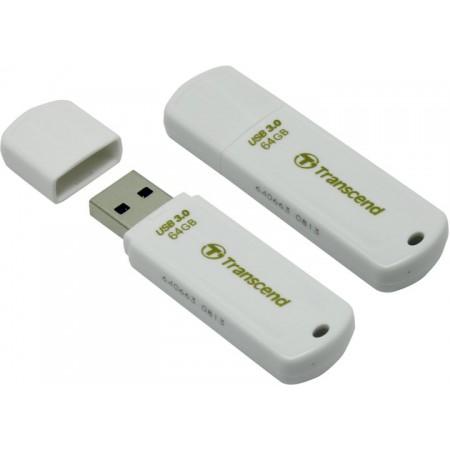 Накопитель 64GB USB Transcend 730 TS64GJF730 White USB3.0 R8
