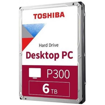 Жесткий диск Toshiba SATA-III 6Tb HDWD260UZSVA P300 5400rpm/