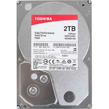 Жесткий диск Toshiba P300 2Tb [HDWD120UZSVA]