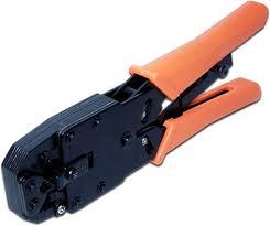 Обжимной инструмент R-11,12,45 Lanmaster TWT-CRI-468R