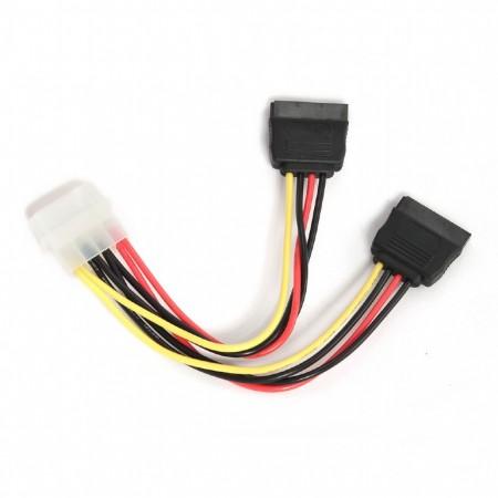 Кабель питания SATA Gembird CC-SATA-PSY на 2 устройства, 15с