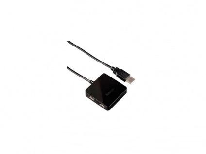 Концентратор USB 2.0 Hama Square 4port H-12131