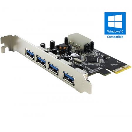Контроллер Orient VA-3U4PE RTL PCI-Express USB3.0 4port