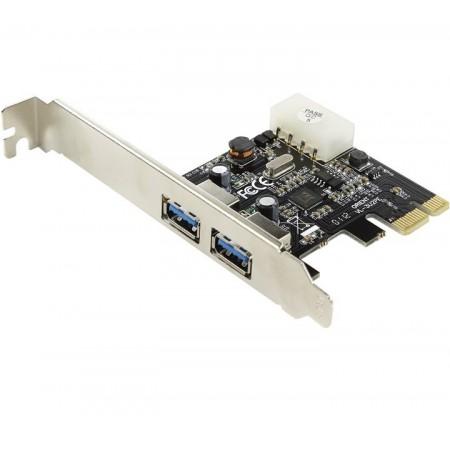 Контроллер ORIENT VL-3U2PE PCIe to 2 port USB 3.0, дополните