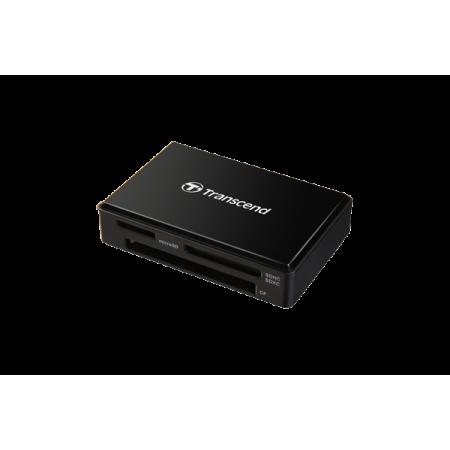 Картридер USB3.0 Transcend TS-RDF8K Black UHS-I SDHC/SDXC/Mi