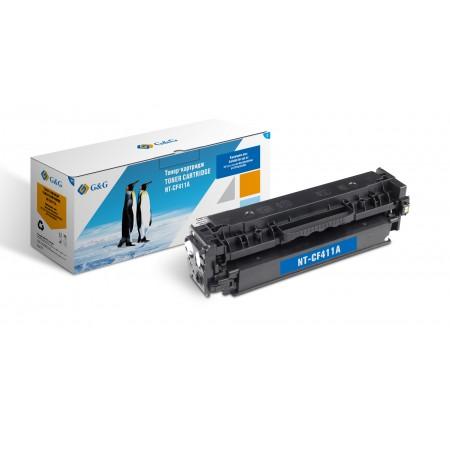 Картридж HP CF411A Cyan G&G НР LaserJet Color M452/M477 2300